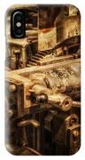 Machine Part IPhone Case