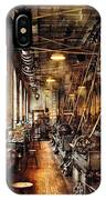 Machinist - Machine Shop Circa 1900's IPhone Case