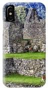 Machu Picchu - Grazing Lamas IPhone Case