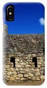 Machu Picchu Peru 13 IPhone Case