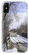 Macomb Orchard Trail IPhone Case
