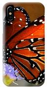 Macro Butterfly IPhone Case