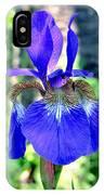 Macro Iris IPhone Case