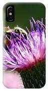 Macro Micro Bee IPhone Case