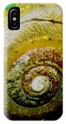 Macro Snail Shell IPhone Case