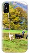 Mac's Farm In Balsam Grove 2 IPhone Case