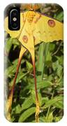 Madagascan Moon Moth IPhone Case