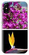 Madeiran Flower Collage IPhone Case