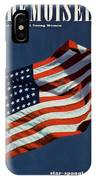 Mademoiselle Cover Featuring The U.s. Flag IPhone X Case