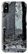 Madison Square And The Flatiron Building IPhone Case