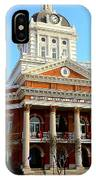 Madison's Morgan County Courthouse IPhone Case