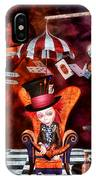 Madness In The Hatter's Realm IPhone Case