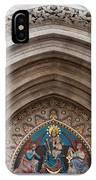 Madonna With Child On Matthias Church Tympanum IPhone Case