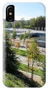 Madrid River Park IPhone Case