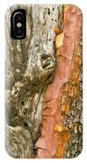 Madrone Tree Bark IPhone Case