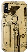 Magazine Fire-arm - Patented On 1877 IPhone Case
