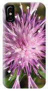 Magenta Fireworks IPhone Case