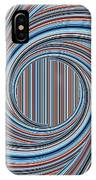 Magic Colorful Abstract Twisted Background IPhone Case