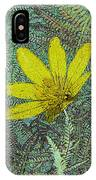 Magic Fern Flower 01 IPhone Case