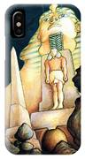 Magic Vegas Sphinx - Fantasy Art IPhone Case
