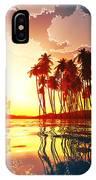 Magic Sunset In Clouds IPhone Case