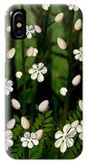 Magical Blooms Of The Deep Forest IPhone Case