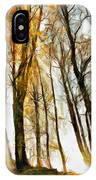Magical Forest - Drawing IPhone Case