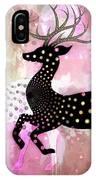 Magical Reindeers IPhone Case