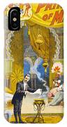 Magician Poster, C1895 IPhone Case