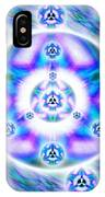 Magnetic Fluid Harmony Banner IPhone Case