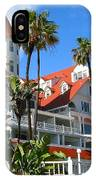 Magnificent Hotel Del IPhone Case