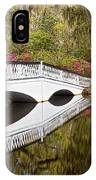 Magnolia Gardens' Bridge IPhone Case