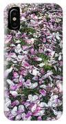 Magnolia Petals IPhone Case