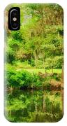 Magnolia Plantation Gardens IPhone Case