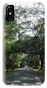 Magnolia Plantation Road IPhone Case