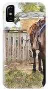 Mahaffie Stagecoach Stop And Farm IPhone Case