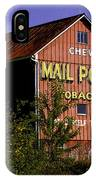 Mail Pouch Barn-0702 IPhone Case