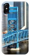 Main Street Bridge Jacksonville Florida IPhone Case