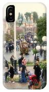 Main Street Disneyland 02 IPhone Case