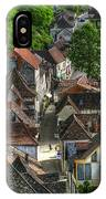 Main Street Rocamadour IPhone Case