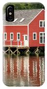 Maine Boat House IPhone Case