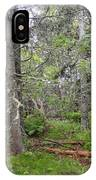 Maine Forest IPhone Case