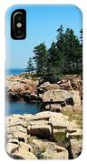 Maine's Rocky Coastline IPhone Case