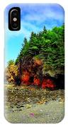 Maine's Rugged Shore IPhone Case