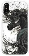 Majestic Spirit Horse  IPhone X Case by AmyLyn Bihrle