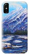 Majestic Peak - Futurism IPhone X Case