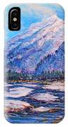 Majestic Rise - Impressionism IPhone X Case