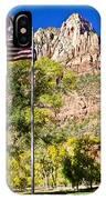 Majestic Sight - Zion National Park IPhone Case