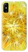 Make A Wish In Greenish Yellow IPhone Case
