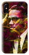 Malcolm X 20140105 IPhone Case